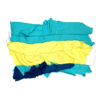 Colored Square Rags